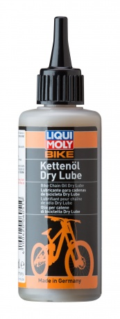6051 LiquiMoly Смазка д/цепи велосипедов (сухая погода) Bike Ketten?l Dry Lube (0,1л)