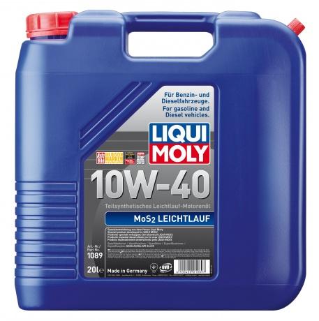 10W-40 SL/CF MOS2 LEICHTLAUF 20л (полусинт.мотор.масло)