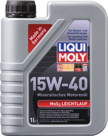 liquimoly 15w40 mos2 leichtlauf 1l. Black Bedroom Furniture Sets. Home Design Ideas