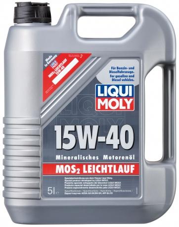 LM  Super Motor Oil MoS2 15w40   5л (4шт) минеральное  1933/2571