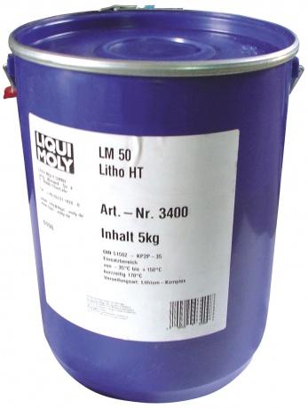LiquiMoly LM 50 Litho HT 5KG_смазка высокотемпературная для ступиц подшипников !\\