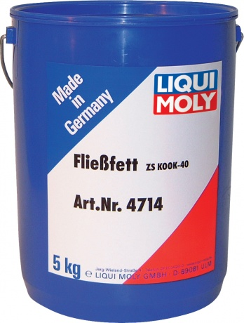 LiquiMoly Fliessfett ZS KOOK-40 5KG_смазка жидкая консистентная для центр.систем !\\