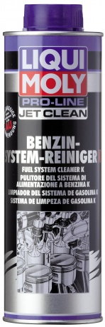 Жидкость д/очистки бенз.сист.впрыска JetClean Benz.Syst.Rein.Konz. (0,5л)
