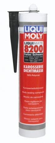 Клей-герметик (черный)  Liquimate 8200 MS Polymer schwarz (0,3л)