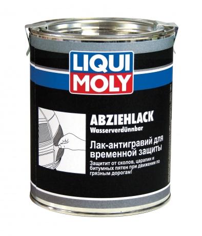 Лак-Антигравий для временной защиты LIQUI MOLY 1л Abziehlack