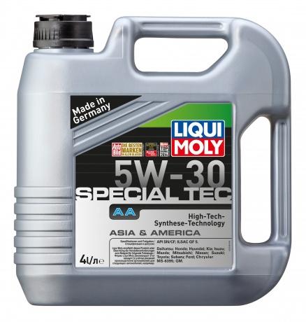 LiquiMoly 5W30 Special Tec AA (Leichtlauf Special AA) (4L) масло моторное !синт.\ API SN, ILSAC GF5
