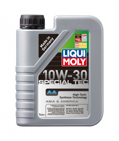 Масло моторное LIQUI MOLY Special Tec AA (Leichtlauf Special AA) 10W-30 1л