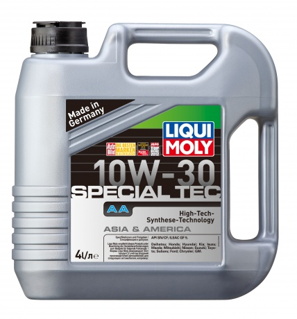 HC-синтетическое моторное масло. Special Tec AA 10W-30 LIQUI MOLY 7524