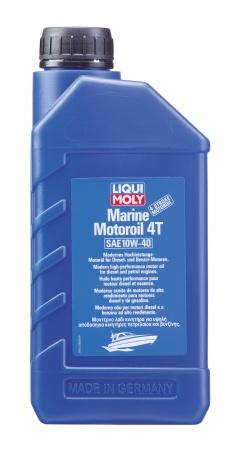 LM П/с.мот.масло д/лодок Marine Motoroil  4T 10W40   1л (12шт)  1236