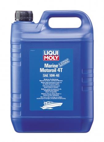 Полусинтетическое моторное масло для лодок. Marine Motoroil 4T 10W-40