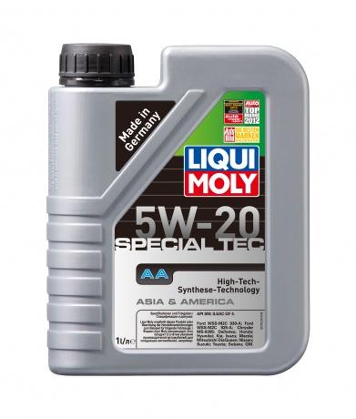 LiquiMoly 5W20 Special Tec AA (Leichtlauf Special AA) (1L) масло мотор.!син\API SM/CF, ILSAC GF-4 LI