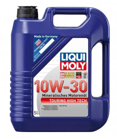 Минеральное моторное масло. Touring High Tech 10W-30
