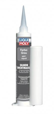 LiquiMoly Silicon-Dichtmass grau 0.08L силиконовый герметик серый !