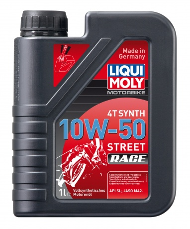 Масло моторное LIQUI MOLY Racing Synth 4T 10W-50 1л