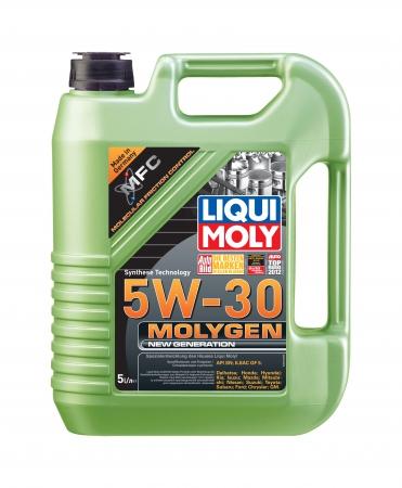 HC-синтетическое моторное масло. Molygen New Generation 5W-30 LIQUI MOLY 9043