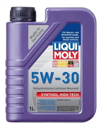 LiquiMoly 5W30 Synthoil High Tech (1L) масло моторное !синт.\ API SM/CF, ACEA A3/B4 LIQUI MOLY 9075