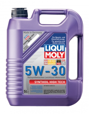 9077 LiquiMoly Синт.мот.масло Synthoil High Tech 5W-30 SM/CF;C3 (5л) LIQUI MOLY