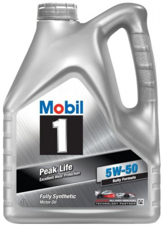Моторное масло Mobil 1, 5W-50, 4л, 152082
