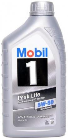 Моторное масло Mobil 1, 5W-50, 1л