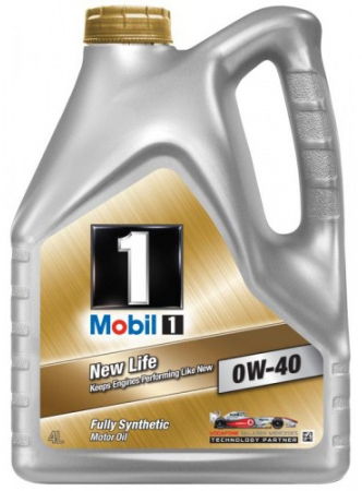 Масло MOBIL 1 NEW LIFE 0W-40 4л. 822699