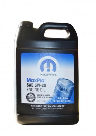 Моторное масло mopar maxpro sae 5w-20 (3,785л)