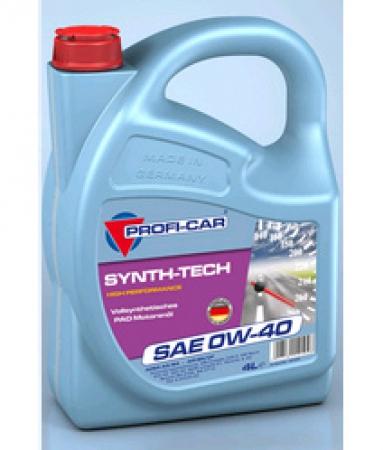 PROF 0W40 (4 L) Synth-Tech 4000 SAE_масло моторное!\ API: SJ/CF PROFI-CAR 12104