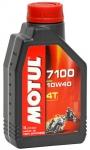 Моторное масло MOTUL 7100 4T, 10W-40, 1 л, 104091