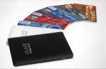 PowerCard 2500 mAh MicroUSB/Lightning-адаптер, Черный, ELARI, 187461