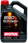 Моторное масло MOTUL 8100 Eco-clean+, 5W-30, 5 л, 101584