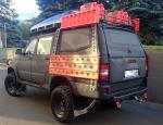 Крыша (кунг) кузова для UAZ Пикап (двойная кабина)(2015-) (чёрная)(3 двери) Expedition АВС-Дизайн, A