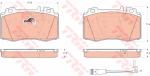 Колодки дисковые Передние, TRW, GDB1543