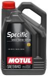 Моторное масло MOTUL Specific VW502.00-505.00-505.01, 5W-40, 5 л, 101575