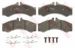Колодки дисковые Передние, TRW, GDB1288