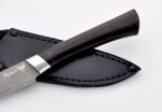 Нож Шеф-повар 4 (булат, мореный граб), KNIFE YARD, 00313