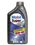Моторное масло Mobil Super 2000 X1, 10W-40, 1л