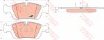 Колодки дисковые Передние, TRW, GDB1100