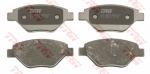 Колодки дисковые Передние, TRW, GDB1571