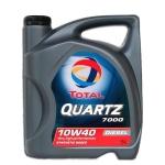 Моторное масло TOTAL QUARTZ 7000 Diesel, 10W-40, 5л, 148646