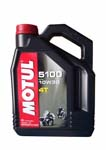 Моторное масло MOTUL 5100 ESTER 4T, 10W-30, 4л, 101399