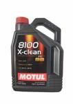 Моторное масло MOTUL 8100 X-clean, 5W-30, 5 л, 102020