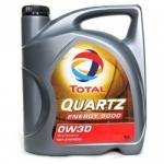 Моторное масло TOTAL QUARTZ 9000 ENERGY, 0W-30, 5л, 151522