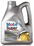 Моторное масло Mobil Super 3000 X1, 5W-40, 5л