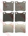 Колодки дисковые Задние, TRW, GDB1276