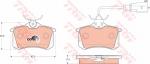 Колодки дисковые Задние, TRW, GDB1415