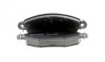 Колодки дисковые Передние, TRW, GDB1361