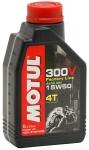 Масло моторное MOTUL 300V 4T FACTORY LINE, 15W-50, 1л, 101358