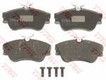 Колодки дисковые Передние, TRW, GDB1092