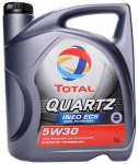 Моторное масло TOTAL QUARTZ INEO ECS, 5W-30, 5л, 151261