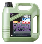 LiquiMoly 5W40 Molygen New Generation (4L) масло моторное !синт.\ API SN/CF, ACEA A3/B4 LIQUI MOLY 9