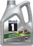 Моторное масло Mobil Advanced Fuel Economy, 0W-20, 4л